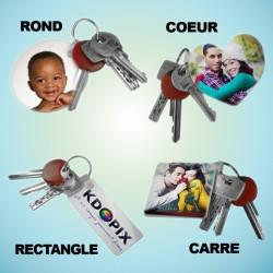 Porte-clés en plastique...