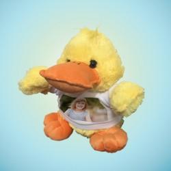 Peluche canard personnalisée