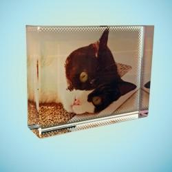 Mini cadre photo cristal en...