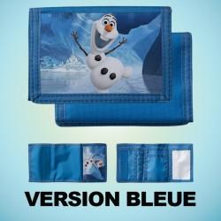Portefeuille scratch bleu...